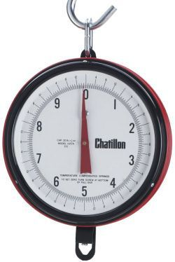 f6221a168c6 Chatillon Century Series 7-inch Dial Hanging Scales in Lb