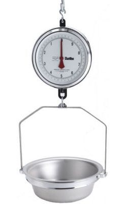 Superior Chatillon 4200 Series 9 Inch Dial Hanging Scales In Lb, NTEP Legal For Trade