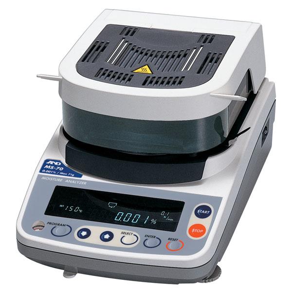 Demo A/&D MS-70 Moisture Analyzer with warranty