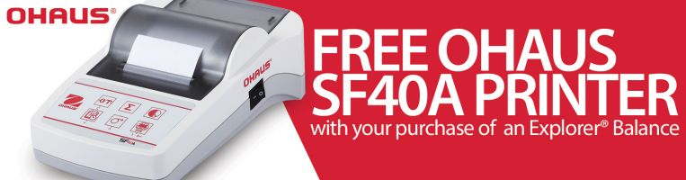 Ohaus Free Printer Offer