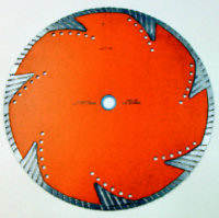 "TBA02S Turbo Diamond Blade, Tornado 4.5"" diameter x 0.080"""