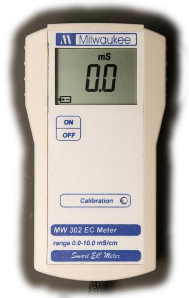 Portable Conductivity Meter : Milwaukee mw series portable conductivity meter