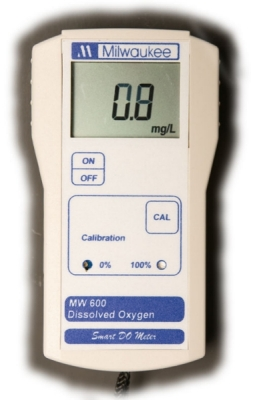Milwaukee MW600 MW Series Portable Dissolved Oxygen Meter