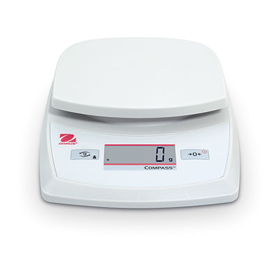 Ohaus Compass CR5200 Compact Scale, 5,200 g x 1 g