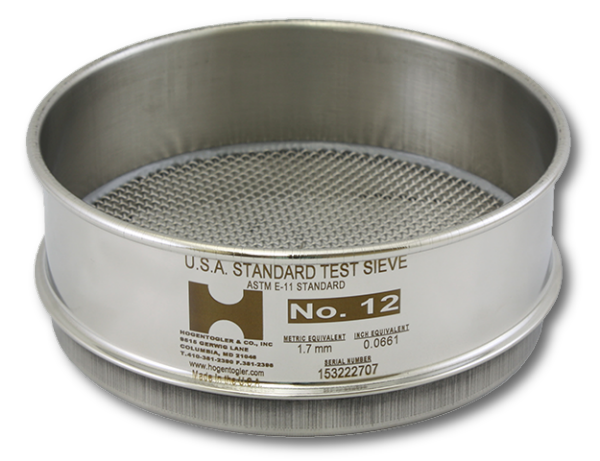 3881 6 Quot Test Sieve No 200 Mesh Full Height Stainless