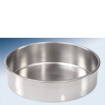 9903 - 200mm Stainless Steel - Half Height Bottom Pan