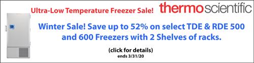 Thermo ULT Freezer Winter Sale!