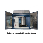 W.S. Tyler® R-30050 Ro-Tap® Sound Enclosure Cabinet